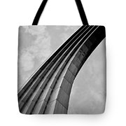 Arch In Black And White Tote Bag