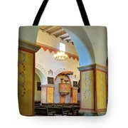 Arch In San Juan Bautista Mission Tote Bag