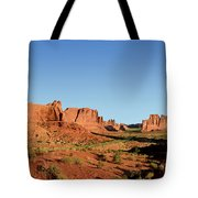 Arch National Park Tote Bag