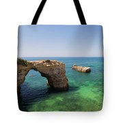 Arch Of Albandeira Beach Tote Bag