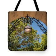 Arch Of The Past Tote Bag