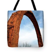 Arch Over Trees Tote Bag