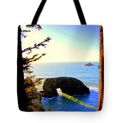 Arch Rock Reflection Tote Bag