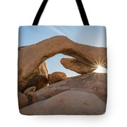 Arch Rock Sunrise Tote Bag