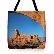 Arch Though An Arch Tote Bag