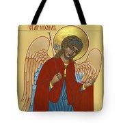 Archangel St Michael 193 Tote Bag