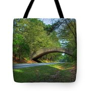 Arched Bridge Overpass  Tote Bag