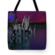 archeological Station on ERIDANUS  Beta Tote Bag