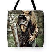 Archer Warrior Tote Bag