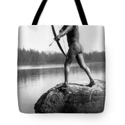 Archery: Nootka Indian Tote Bag by Granger