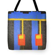 Arches And Night Blooming Vine Tote Bag