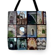 Arches Collage Tote Bag