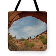 Arches Formation 38 Tote Bag