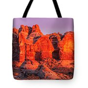 Arches National Park Pano One Tote Bag