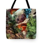 Arches National Park Trail Tote Bag