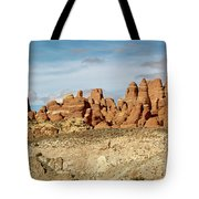 Arches Spires  Tote Bag
