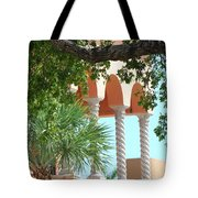 Arches Thru The Trees Tote Bag