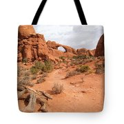 Arches With Wood Tote Bag