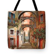 Archetti In Rosso Tote Bag