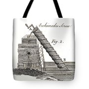 Archimedes Screw, 1769 Tote Bag