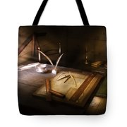 Architect - The Drafting Table  Tote Bag