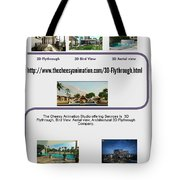 Architectural 3d Flythrough Tote Bag