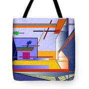 Architectural Abstract 2 Tote Bag