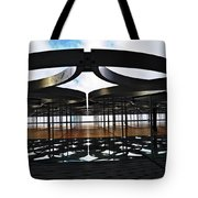 Architectural Detail Abstract Tote Bag
