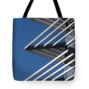 Architectural Detail Of Triangles Tote Bag