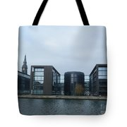 Architectural Dominance Tote Bag