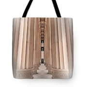Architectural Pathway Of Pillars Tote Bag
