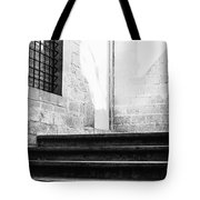 Architectural Stone Stairs Tote Bag