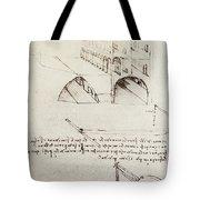 Architectural Study Tote Bag