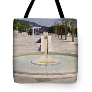 Architecture At The Getty Tote Bag