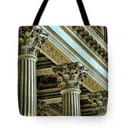 Architecture Columns Palace King Louis Xiv Versailles  Tote Bag