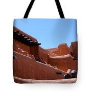 Architecture In Santa Fe Tote Bag