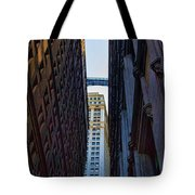 Architecture New York City The Crossing  Tote Bag