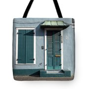 Architecture Of The French Quarter In New Orleans Tote Bag