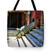 Architecture Tam Coc Vietnam Tote Bag