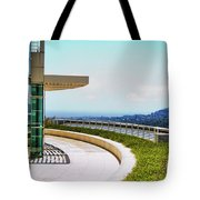 Architecture View Getty Los Angeles  Tote Bag