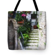 Archway And Stairs Tote Bag