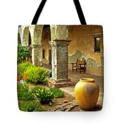 Archways At The Mission, Mission San Juan Capistrano, California Tote Bag