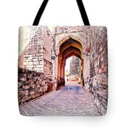 Archways Ornate Palace Mehrangarh Fort India Rajasthan 1a Tote Bag