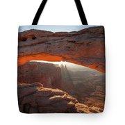 Arcing Light Tote Bag