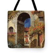 Arco Al Buio Tote Bag by Guido Borelli