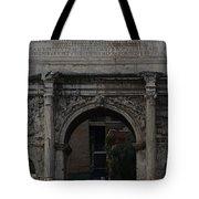 Arco Di Settimio Severo Tote Bag