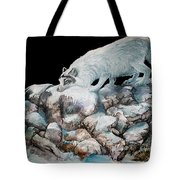 Arctic Encounter Tote Bag