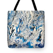 Arctic Frenzy Tote Bag