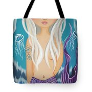 Arctic Mermaid Tote Bag