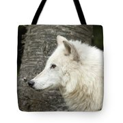 Arctic Wolf - On Watch Tote Bag